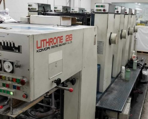 Komori L426 Used Press Equipment